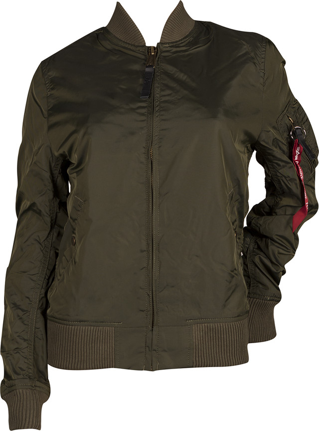 Alpha Industries MA-1 TT WMN 257 DARK GREEN 141041-257