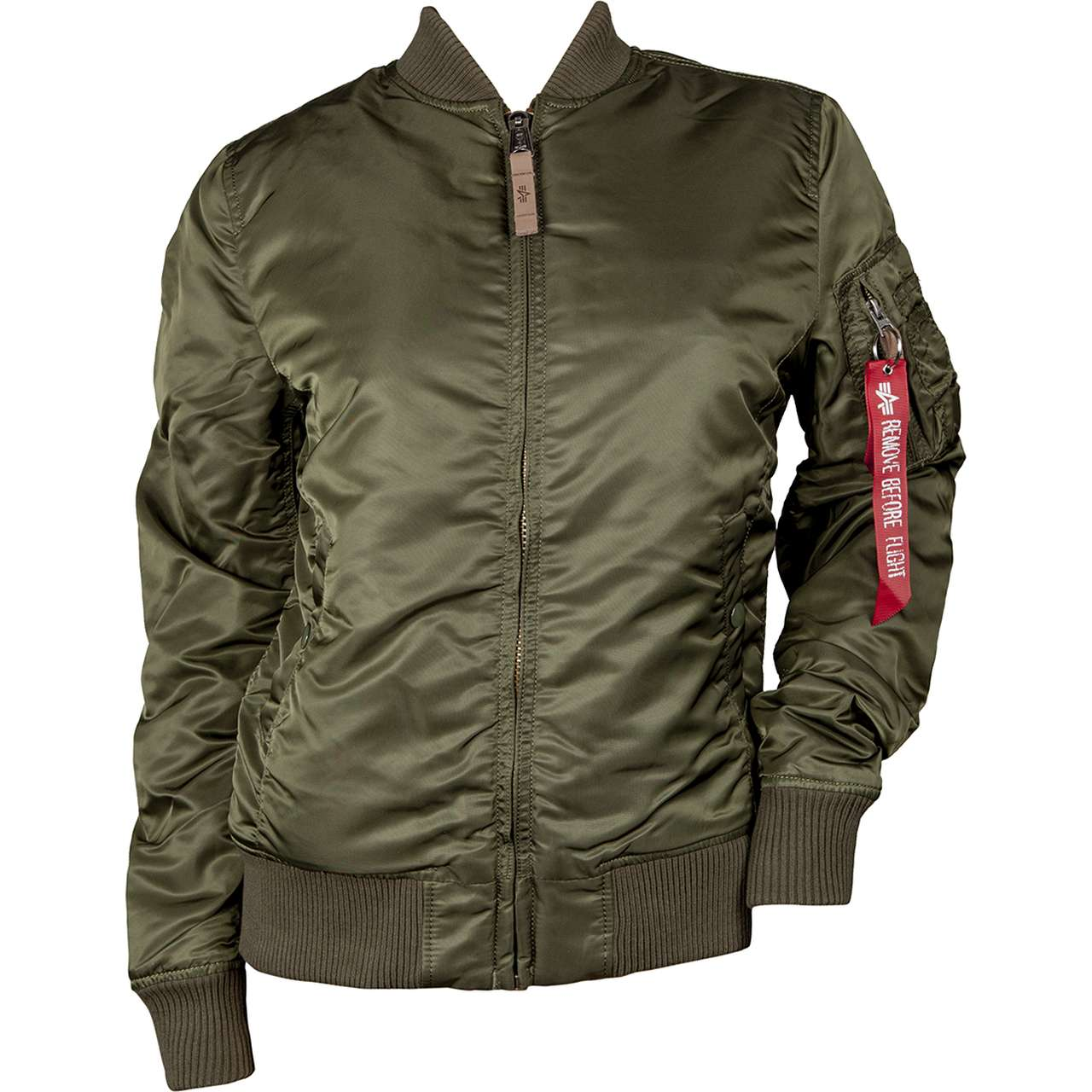 Kurtka Alpha Industries  <br/><small>MA-1 VF 59 WMN 257 DARK GREEN </small>  133009-257