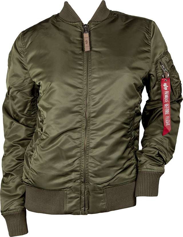 Alpha Industries MA-1 VF 59 WMN 257 DARK GREEN 133009-257