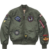 Kurtka Alpha Industries Ma-1 VF DIY 01