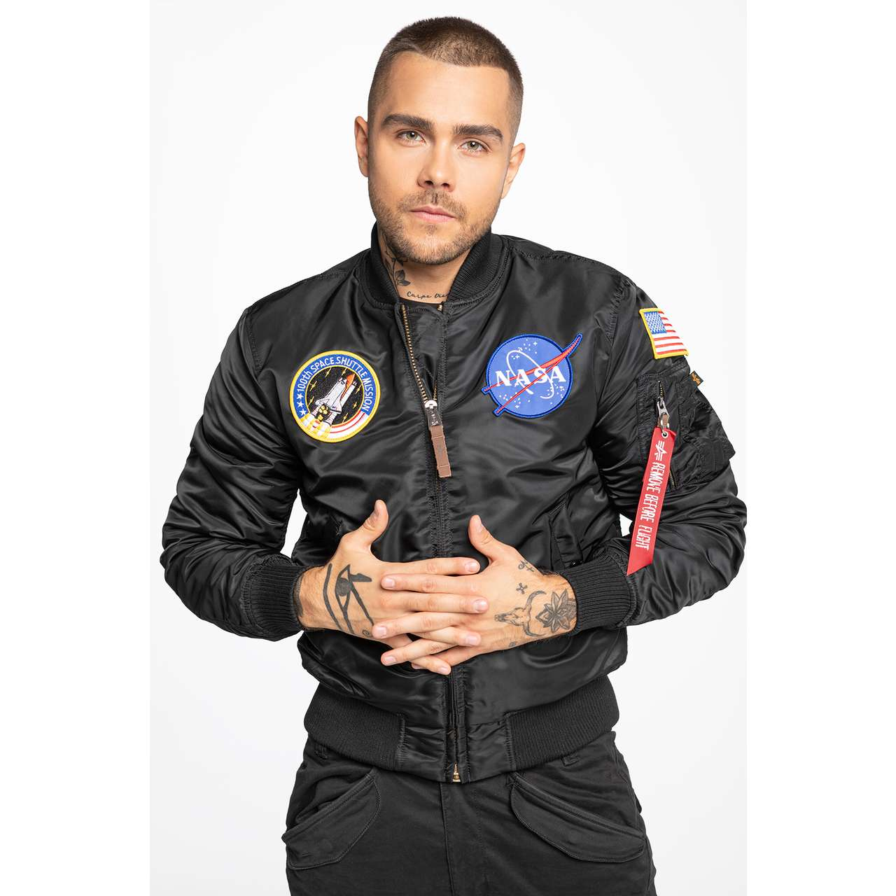 Kurtka Alpha Industries  <br/><small>MA-1 VF Nasa 03 </small>  166107-03