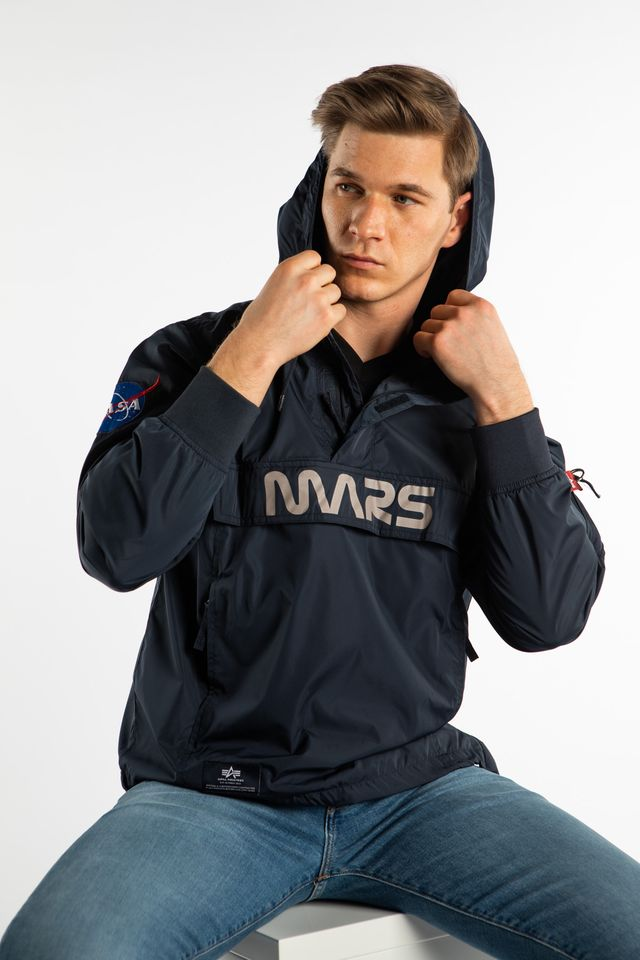 Alpha Industries MARS MISSION ANORAK 07 REP. BLUE 126132-07