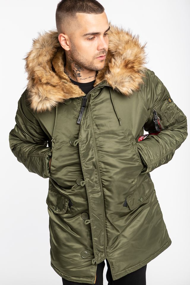 Alpha Industries N3B VF 59 257 DARK GREEN 103141-257