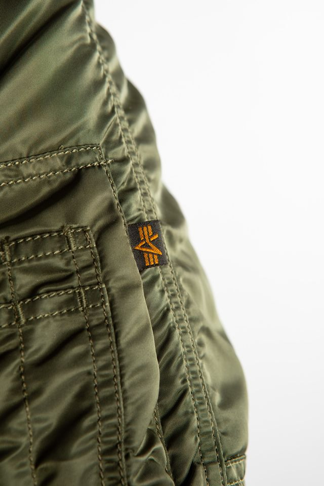 Kurtka Alpha Industries  <br/><small>N3B VF 59 257 DARK GREEN </small>  103141-257