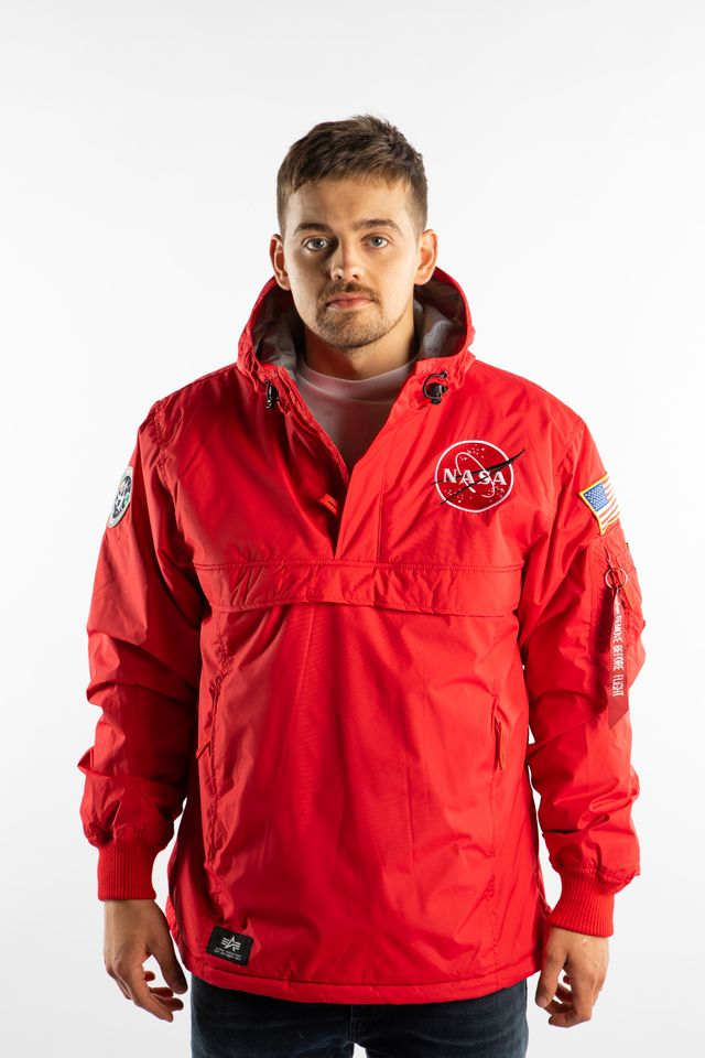 Alpha Industries NASA ANORAK 328 SPEED RED 188133-328