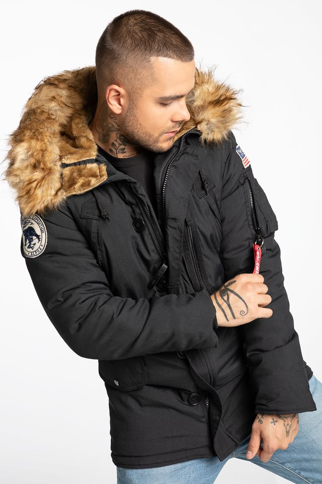 BLACK Polar Jacket 123144-03