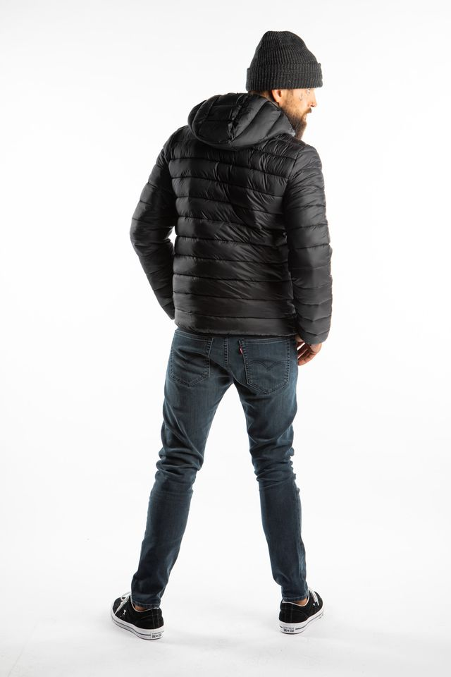 Kurtka Champion  <br/><small>HOODED JACKET KK001 NBK/WBJM/ALLOVER </small>  213544-KK001