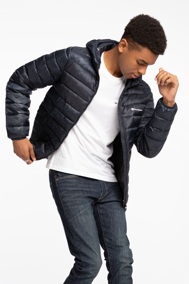 NAVY Hooded Jacket 214869-BL501