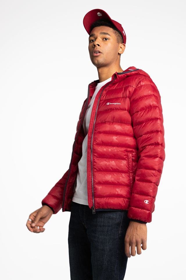 RED Hooded Jacket 214869-RL508