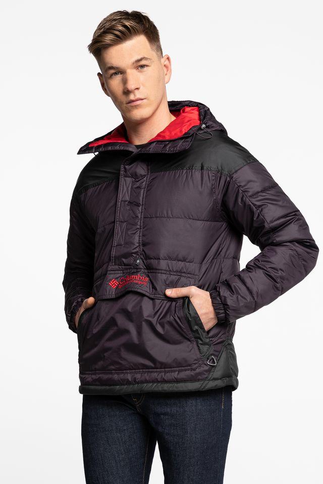 Columbia Lodge Pullover Jacket 1864422-511 BLACK/PURPLE/RED
