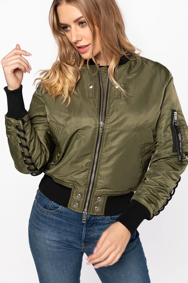 MILITARY GREEN W-SWING GIACCA A00835 0KAUX-51F