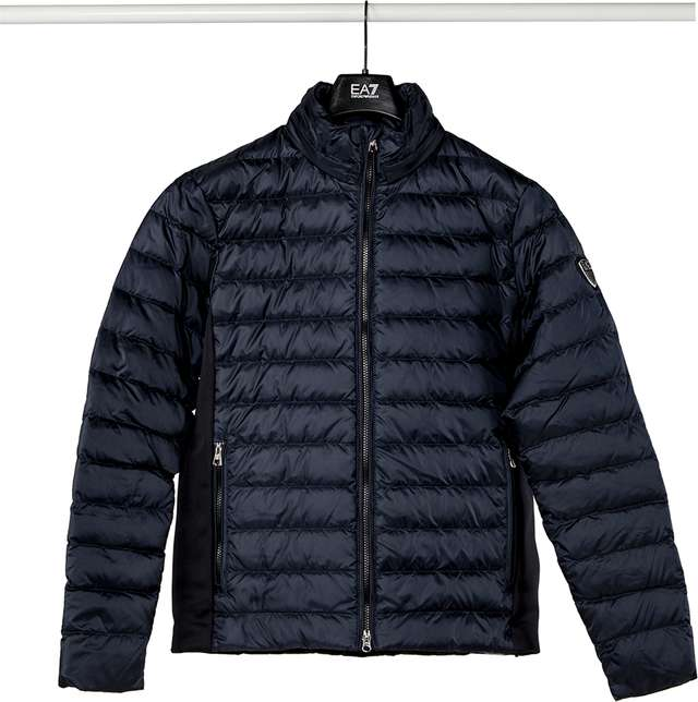 EA7 Emporio Armani TESSUTO DOWN JACKET 1578 NIGHT BLUE 6ZPB14PN22Z-1578