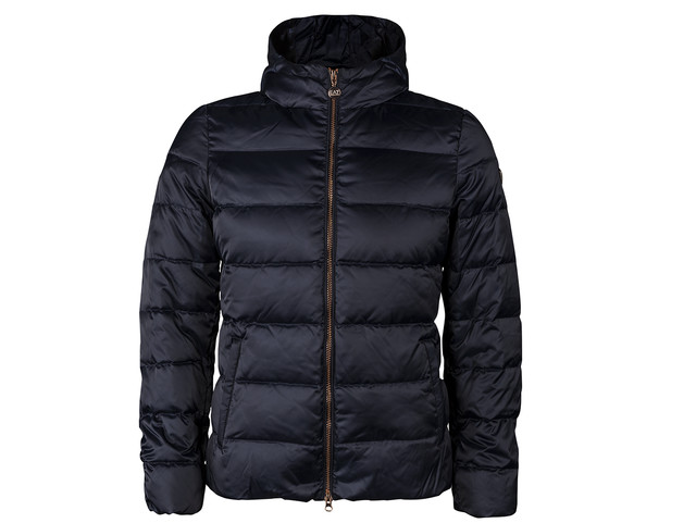 EA7 Emporio Armani WOMAN WOVEN DOWN JACKET 1554 NAVY BLUE 6ZTB09TN05Z-1554