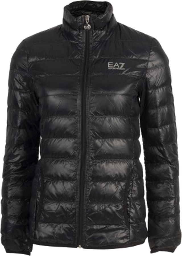 EA7 Emporio Armani Woman Woven Down Jacket 8NTB13TN12Z-1200