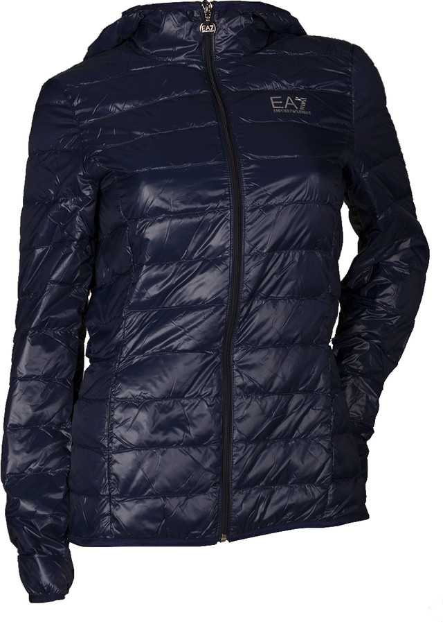 EA7 Emporio Armani Woman Woven Down Jacket 8NTB14TN12Z-1554