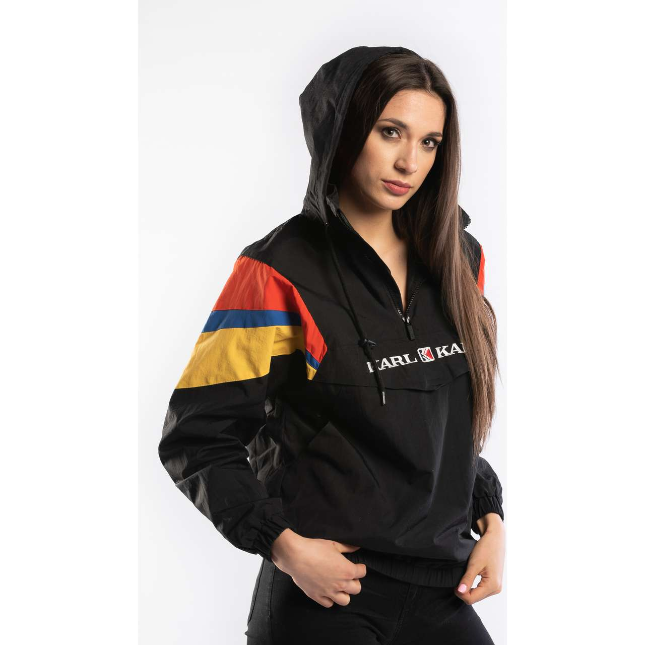 Kurtka Karl Kani  <br/><small>BLOCK WINDBREAKER BLACK/RED/GREEN </small>  6184119