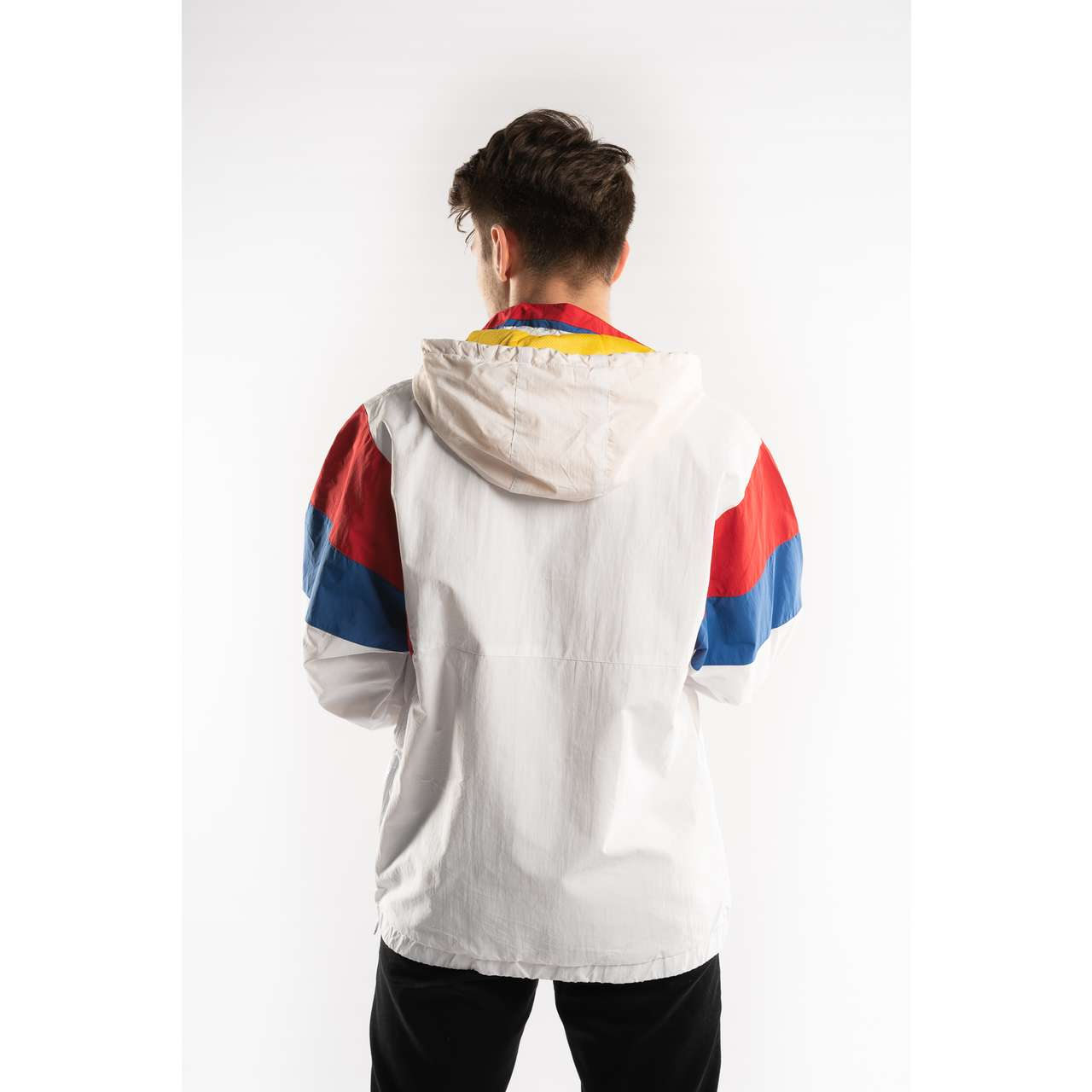 Kurtka Karl Kani  <br/><small>RETRO BLOCK WINDBREAKER WHITE/RED/BLUE </small>  6084457