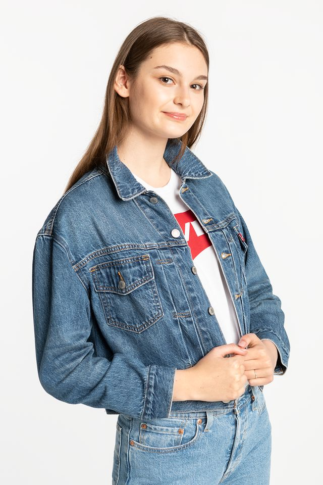 Levi's NEW HERITAGE TRUCKER JACKET 36757-0000 LIGHT BLUE DENIM