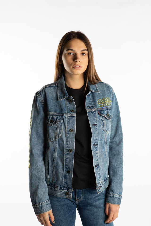 Levi's STAR WARS TRUCKER JACKET 0449 BAD FEELING TRUCKER 72334-0449