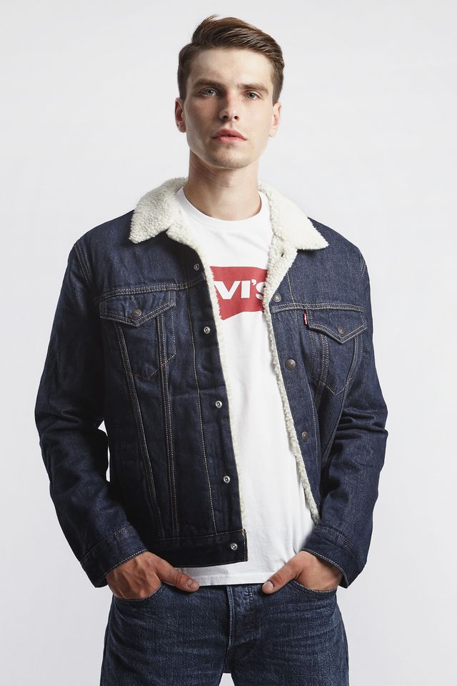 Levi's SHERPA TRUCKER JACKET 0084 ROCKRIDGE 16365-0084