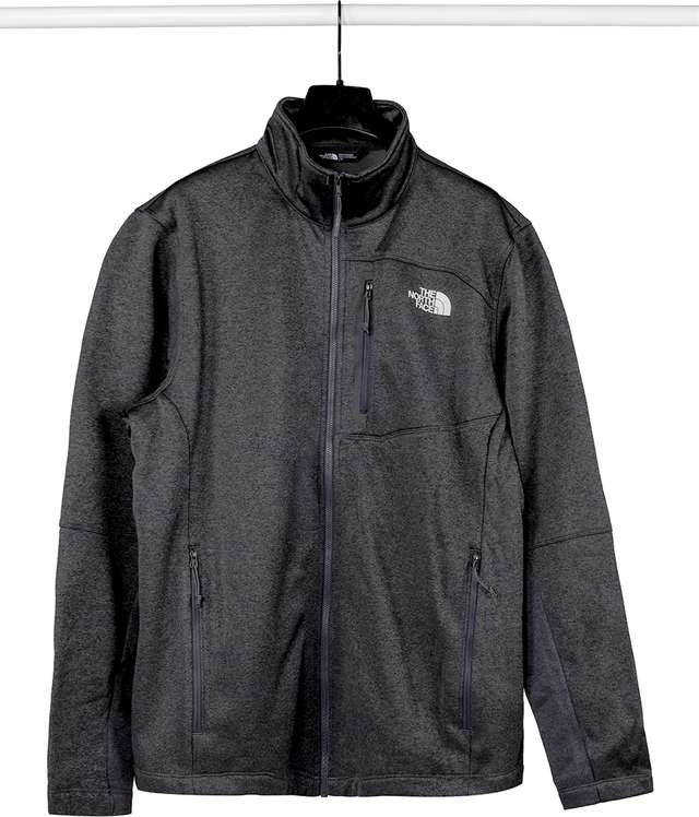 The North Face M CANYONLANDS SOFT SHELL JKT TNF DARK GREY HEATHER T93BRHDYZ
