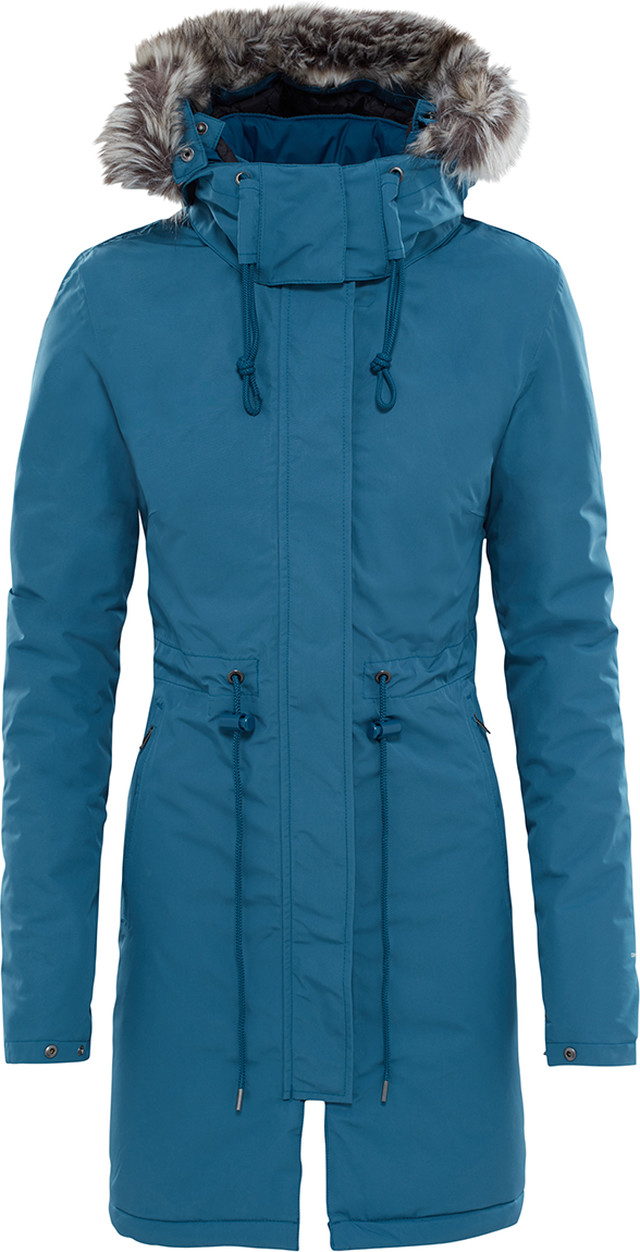 The North Face W ZANECK PARKA PRUSSIAN 44A T92TUP44A
