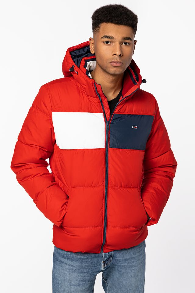 Tommy Jeans Outerwear DM0DM09375-XNL RED