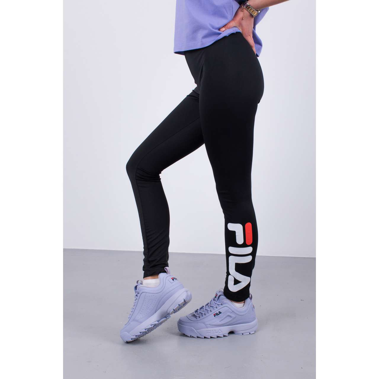 Legginsy Fila  <br/><small>WOMEN FLEX 2.0 LEGGINGS 002 BLACK </small>  681826-002