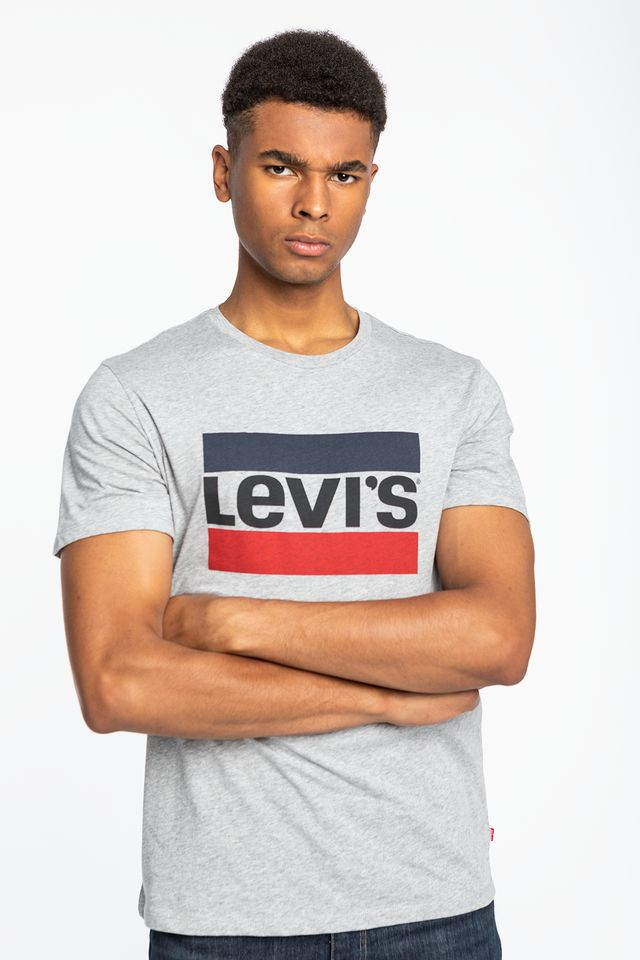 Levi's SPORTSWEAR LOGO GRAPHIC 0002 GREY 39636-0002