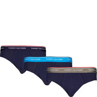 Tommy Hilfiger 3PACK BRIEF 223 SMOKED PEARL/VIVID BLUE/PEACO 1U87903766-223