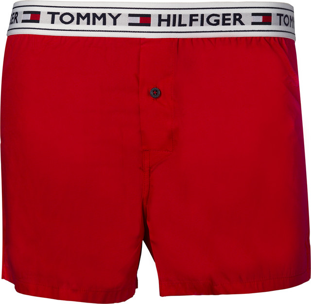 Majtki Tommy Hilfiger  <br/><small>Woven Boxer 611 RED </small>  UM0UM00517-611