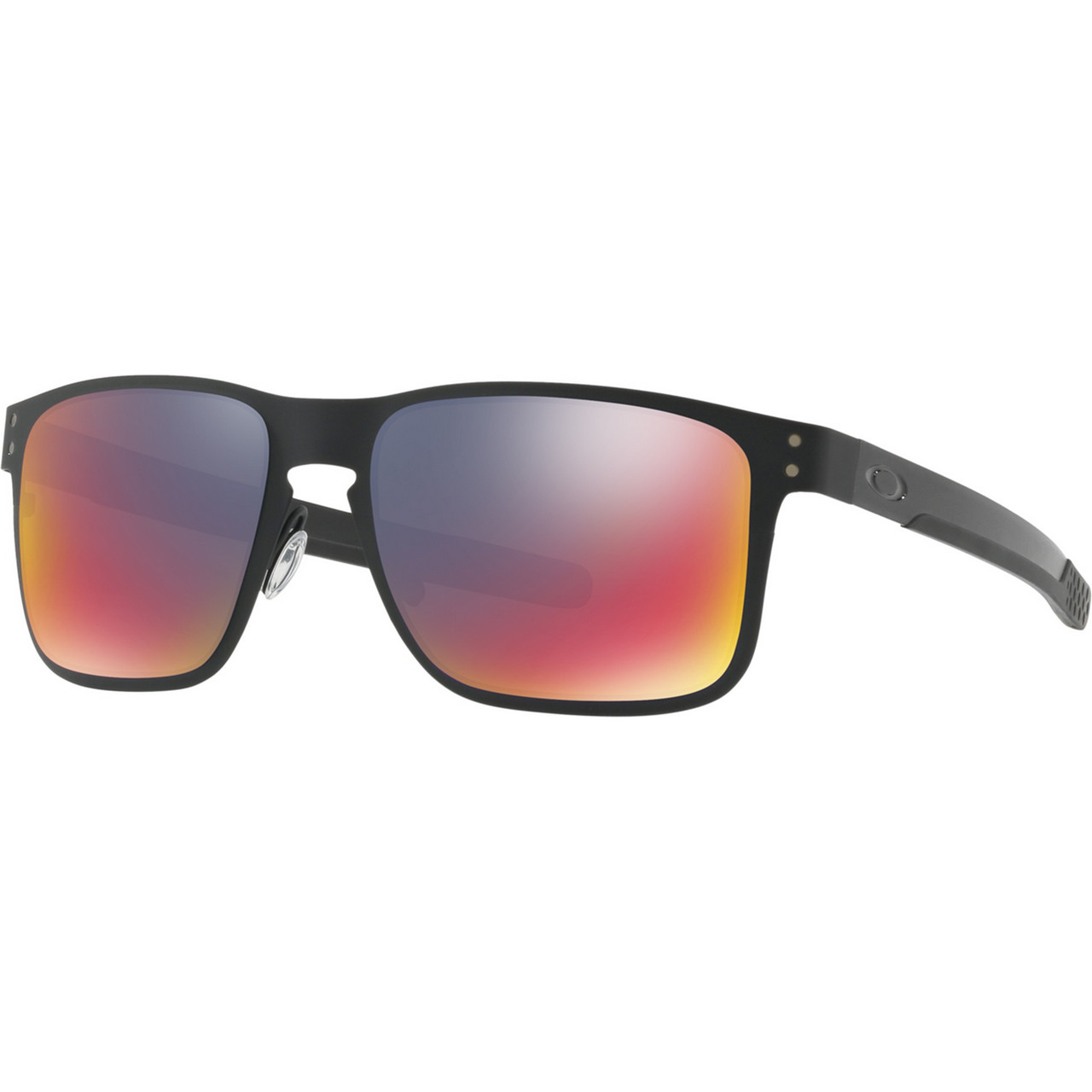 Okulary Oakley  <br/><small>Holbrook Metal Mtt Blk Red 255 </small>  OO4123-0255