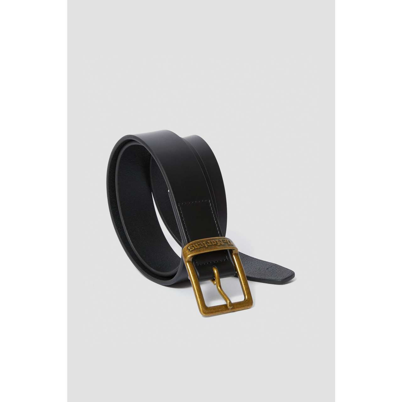 Pasek Dr. Martens  <br/><small>35MM BUCKLE BELT 001 BLACK SMOOTH </small>  DMAC700001