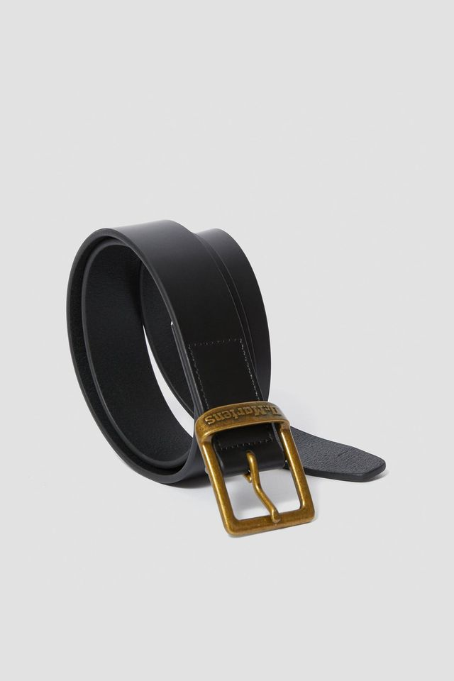 Dr. Martens 35MM BUCKLE BELT 001 BLACK SMOOTH DMAC700001