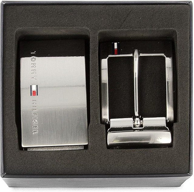 ea3f4ed03f5 Pasek Tommy Hilfiger DOUBLE BUCKLE GIFTBOX 3.5 ADJ REV 901 - eastend.pl