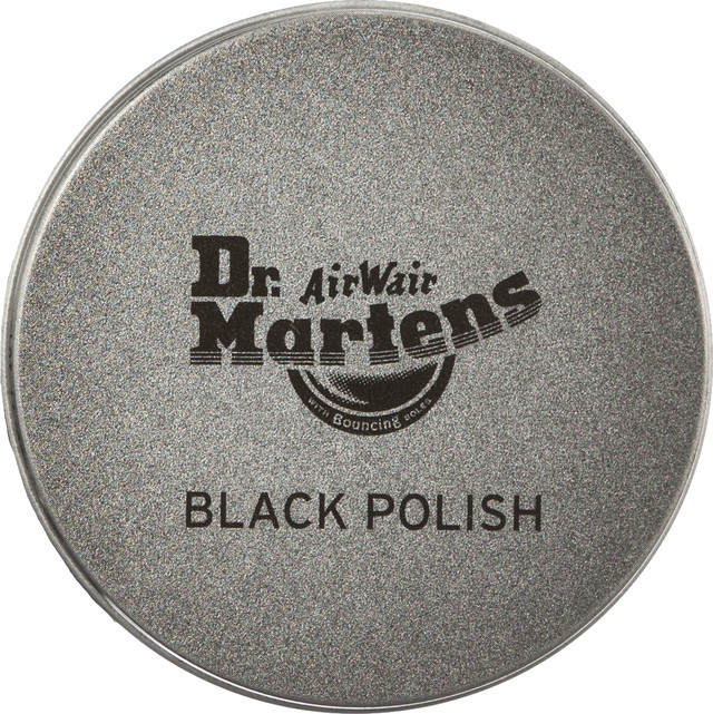 Dr. Martens Black Shoe Polish 001 DMAC028001