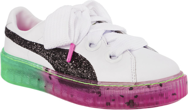 Puma PLATFORM CANDY PRINCESS SOPHIA WEBSTER PUMA WHITE/PUMA BLACK 36613501