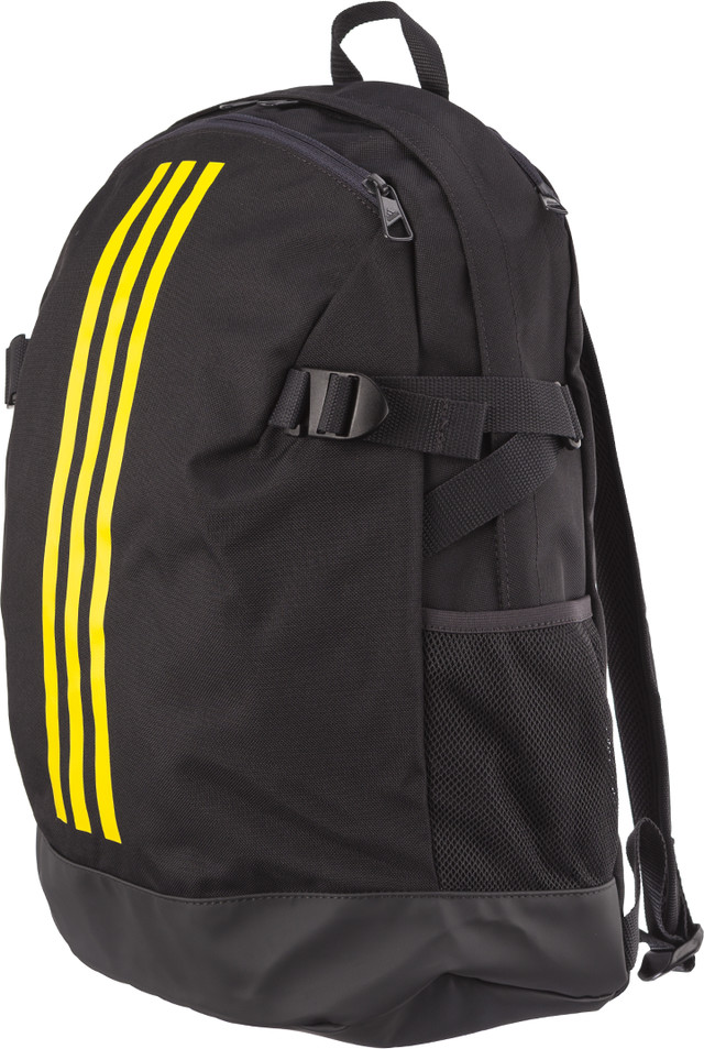 adidas BACKPACK POWER IV M CARBON/SHOCK YELLOW/SHOCK YELLOW DM7681