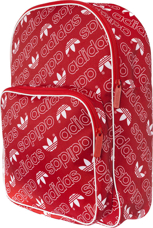 adidas BACKPACK CLASSIC AC GR 364 COLLEGIATE RED/WHITE DH3364
