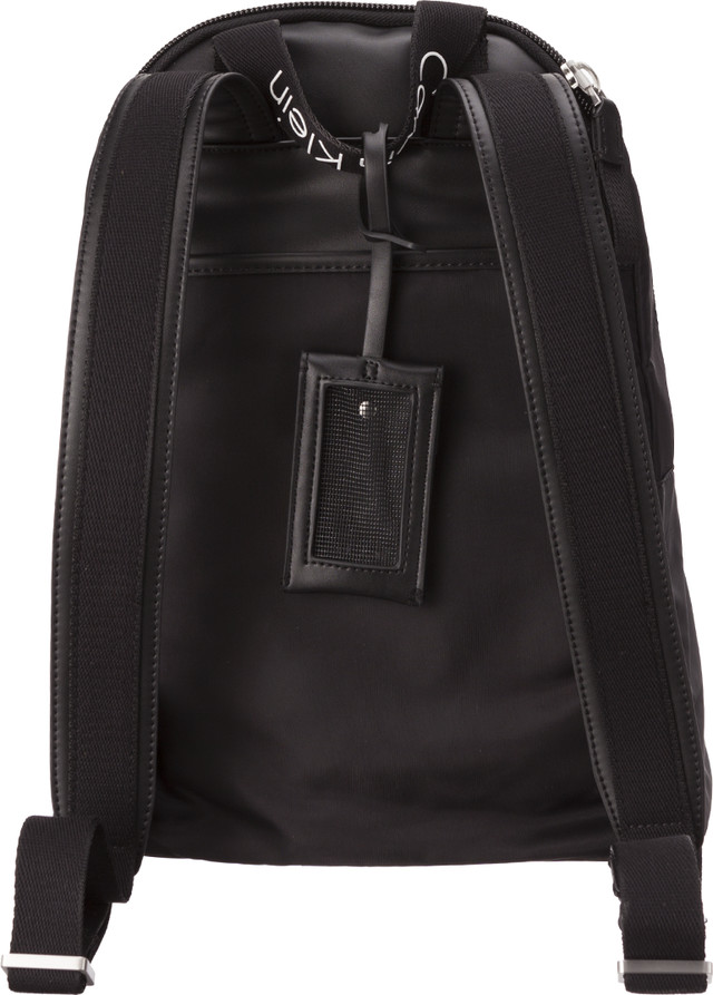 dace19aa3ef5a ... Plecak Calvin Klein <br/><small>CITY NYLON BACKPACK 001 BLACK ...