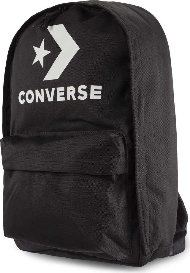 020cc78900 Plecak Converse  br   small EDC 22 A01 BLACK WHITE