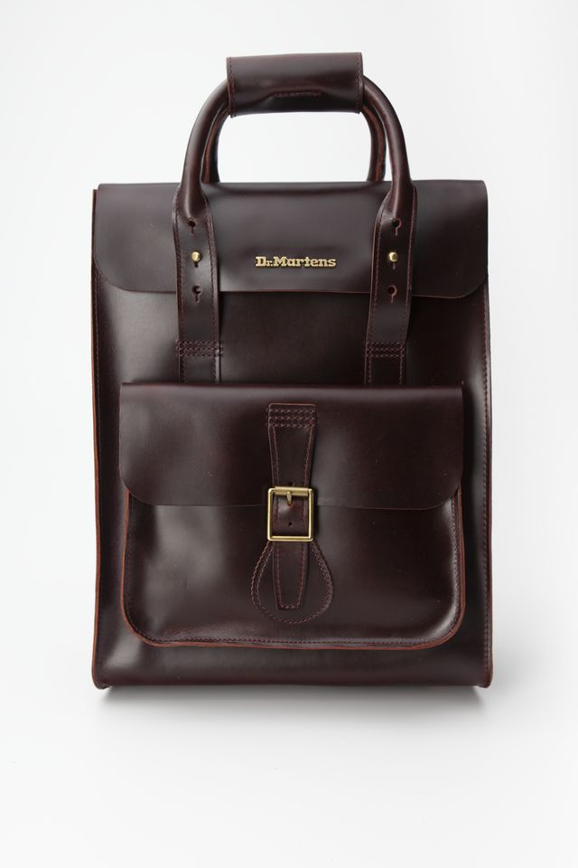 Dr. Martens BRANDO LEATHER BACKPACK 230 CHARRO BRANDO DMAB100230