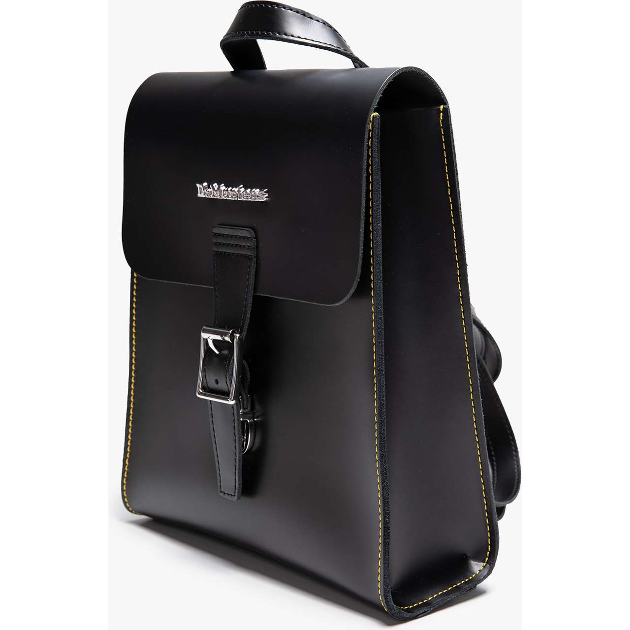 Plecak Dr. Martens  <br/><small>MINI LEATHER BACKPACK 001 BLACK/BLACK SMOOTH/KIEV </small>  DMAB101001