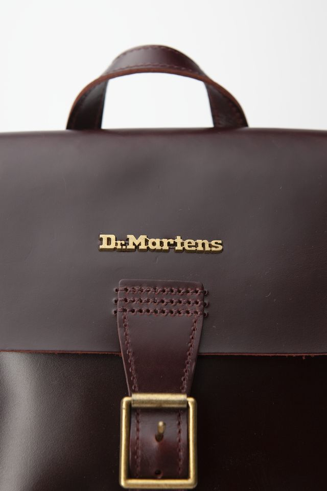 Plecak Dr. Martens  <br/><small>MINI LEATHER BACKPACK 230 CHARRO BRANDO </small>  DMAB101230