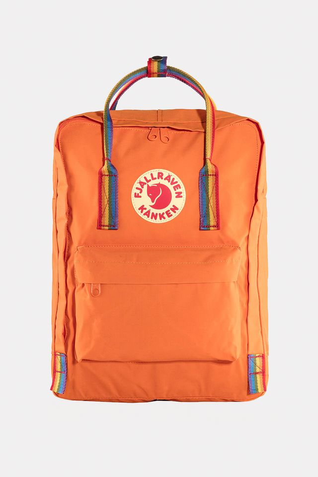 Fjallraven KANKEN RAINBOW 212-907 BURNT ORANGE/RAINBOW PATTERN F23620-212-907