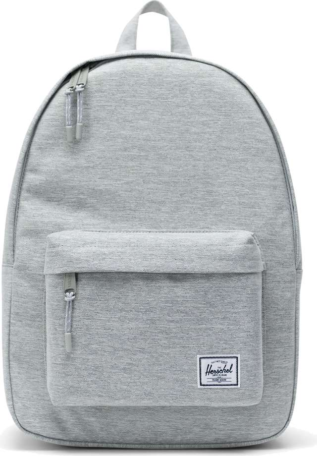 Herschel Classic Mid-Volume Light Grey Crosshatch 10485-01866