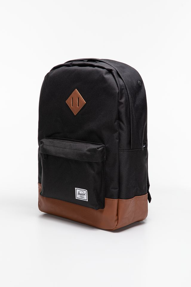 Plecak Herschel  <br/><small>HERITAGE BACKPACK 00055 BLACK/TAN </small>  10007-00055