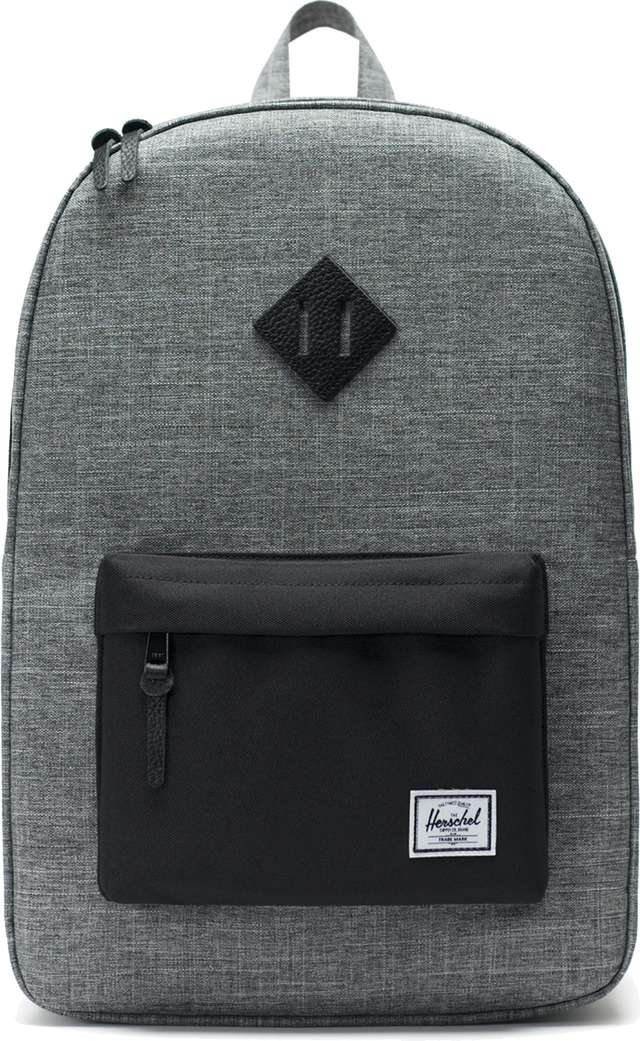 Herschel HERITAGE BACKPACK 01132 CROSSHATCH/BLACK 10007-01132