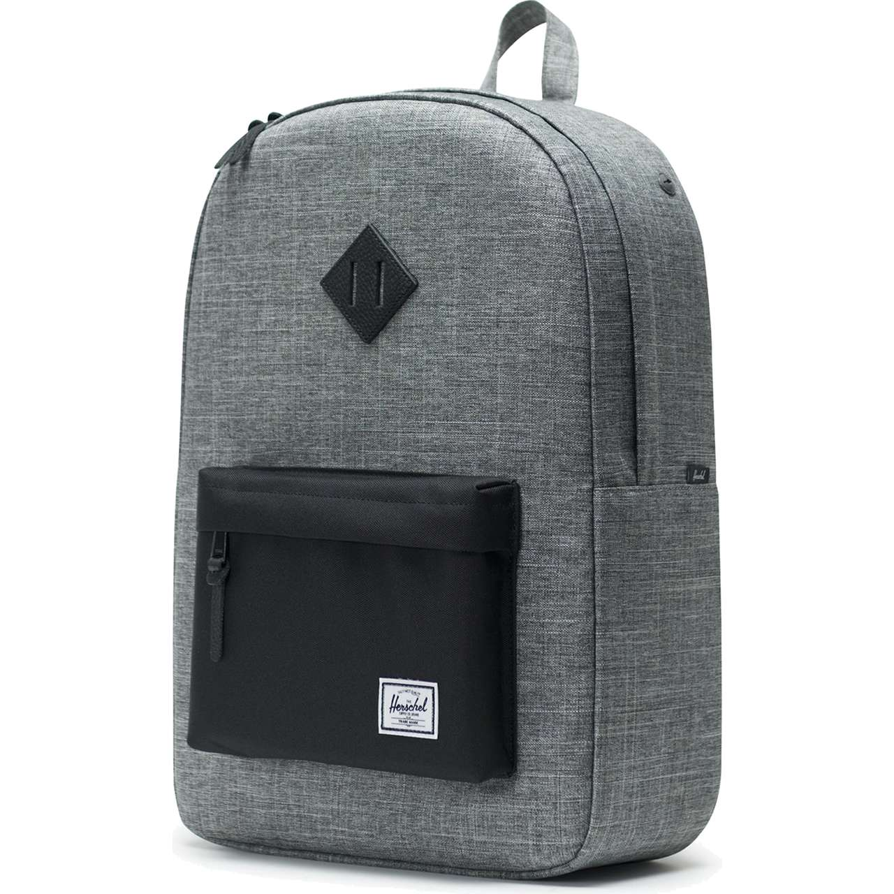 Plecak Herschel  <br/><small>HERITAGE BACKPACK 01132 CROSSHATCH/BLACK </small>  10007-01132