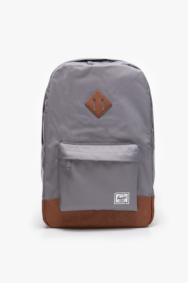 Herschel HERITAGE BACKPACK 00061 GREY/TAN 10007-00061